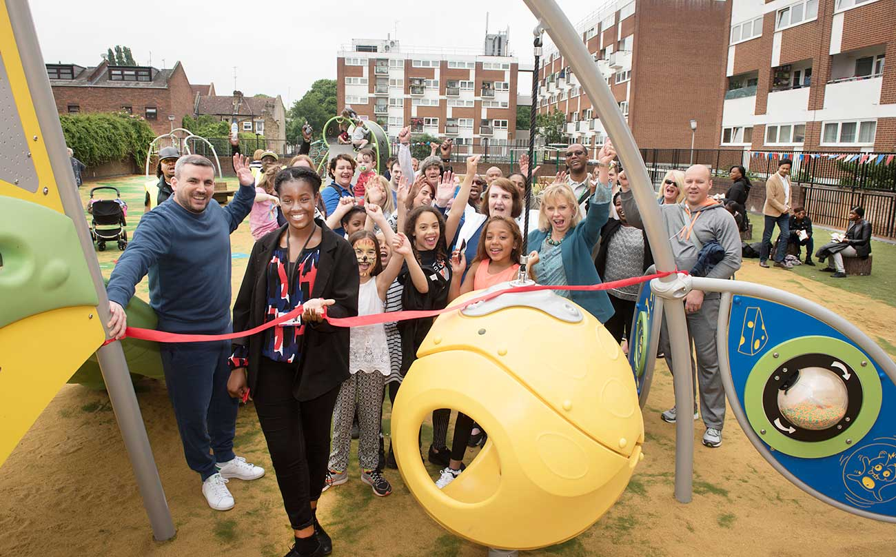 Residents are delighted with the playground