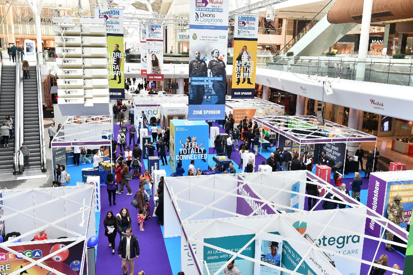jobs lbhf thousands of jobs on offer at westfield job show