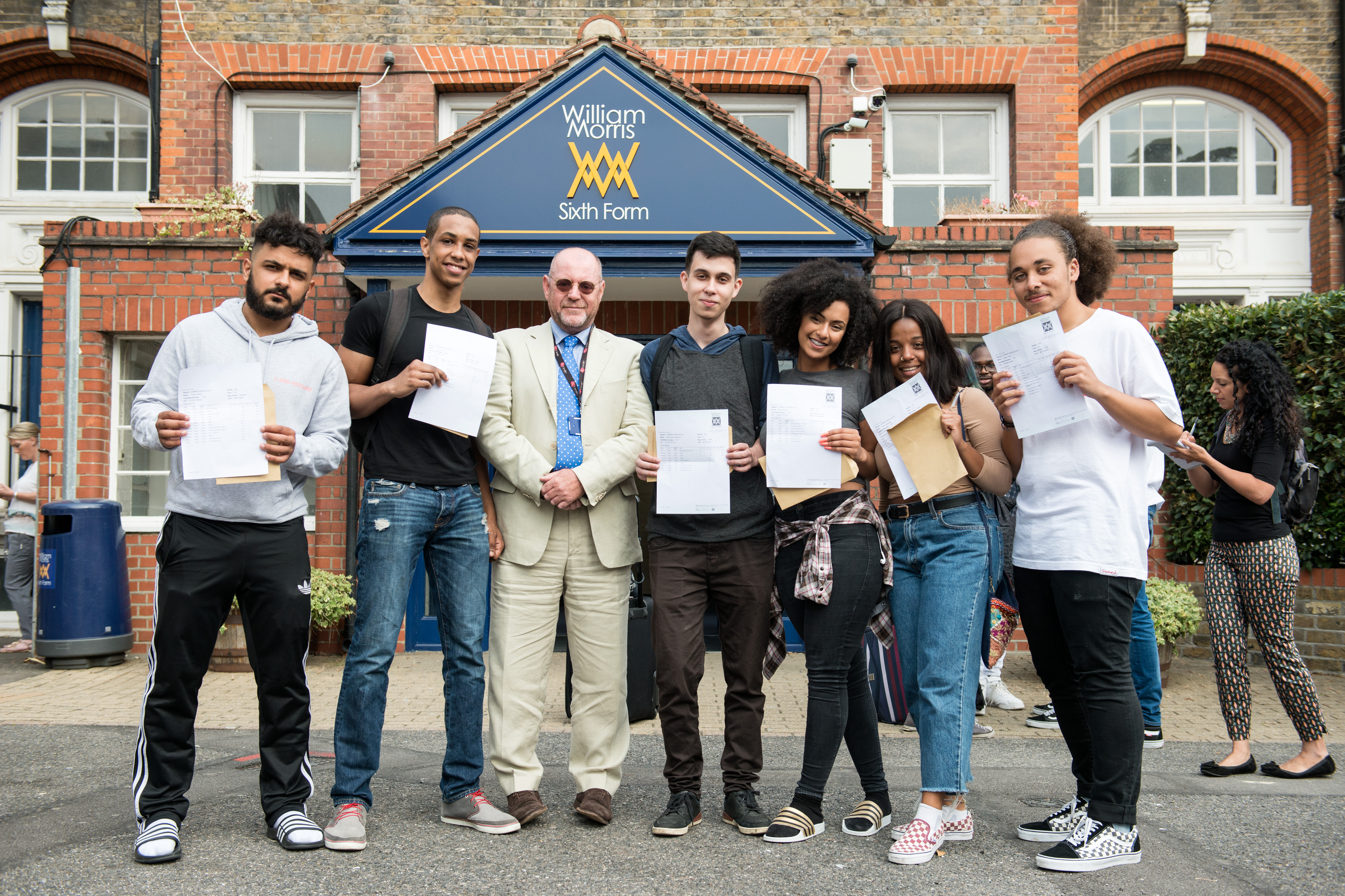 william morris sixth form students achieve some of their