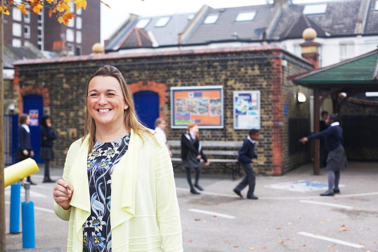 Queen's Manor Primary School's headteacher Sonja Harrison