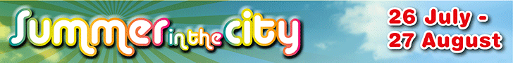 Link to Summer in the City activities and event information on lbhf.gov.uk