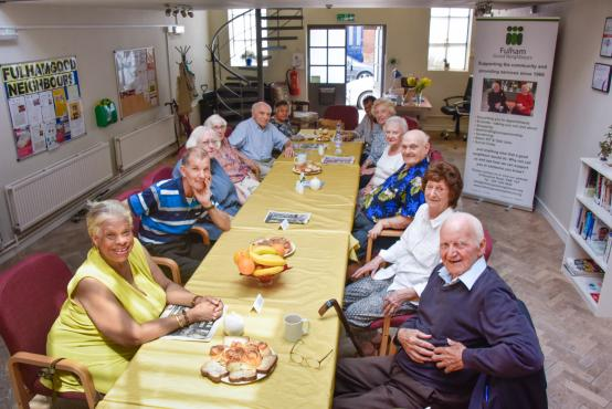 A Fulham Good Neighbours meeting for the over 60s