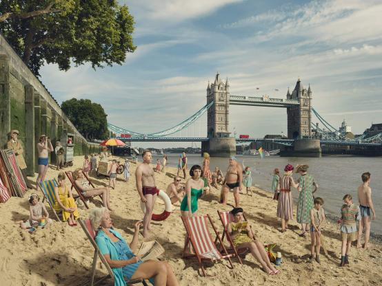 Online talk explores work of local photographer with a love of the Thames