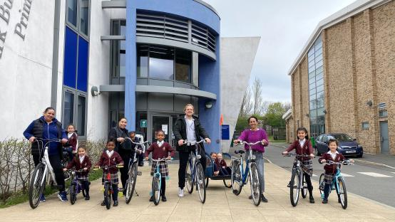White City pupils and parents to enjoy new bike 'library'