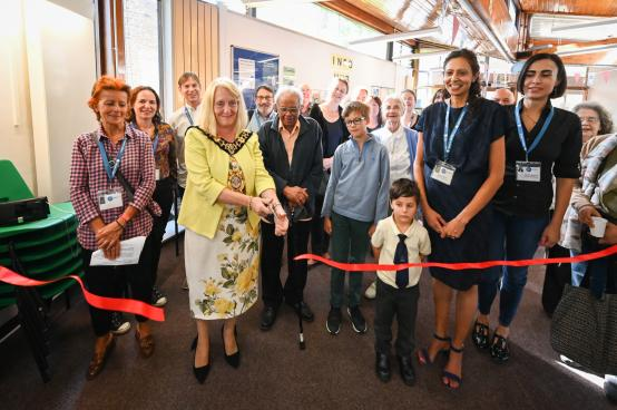 Ribbon cutting at the Avonmore Library Citizens Advice Bureau