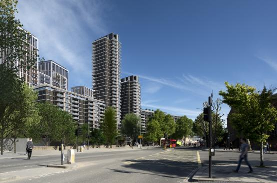 H&F Council leads economic recovery with 185 new genuinely affordable homes in White City