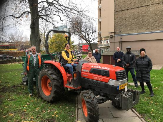 Fulham estate goes green thanks to residents and volunteers