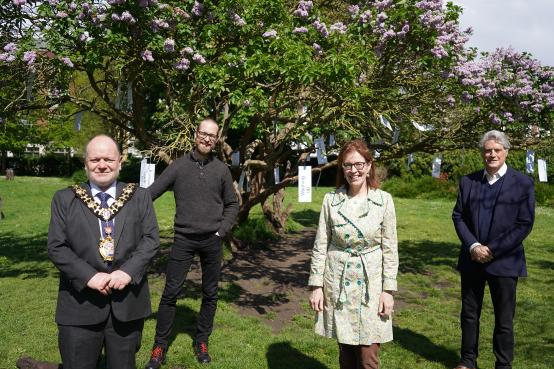 H&F launches Dementia Action Week with poetrees in five local parks