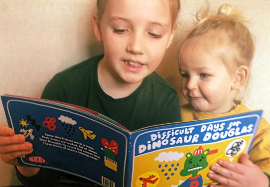 Pupils to get Dinosaur Douglas books as welcome back gift