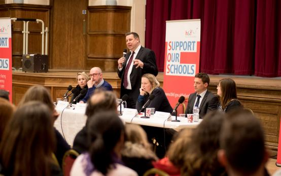 Hundreds of parents and teachers unite to 'Support Our Schools' at packed H&F meeting