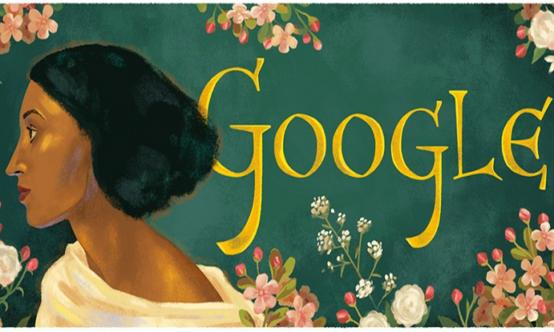 Artists' model on Google doodle is one of ours!