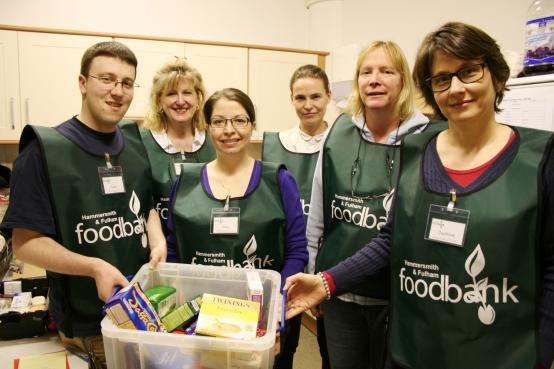 H&F Foodbank volunteers