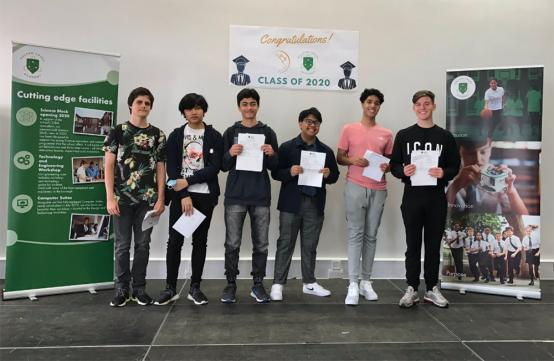H&F students celebrate GCSE success in a year like no other