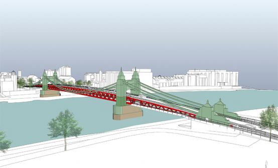 Study of double-decker proposal concludes Hammersmith Bridge could re-open to pedestrians next summer
