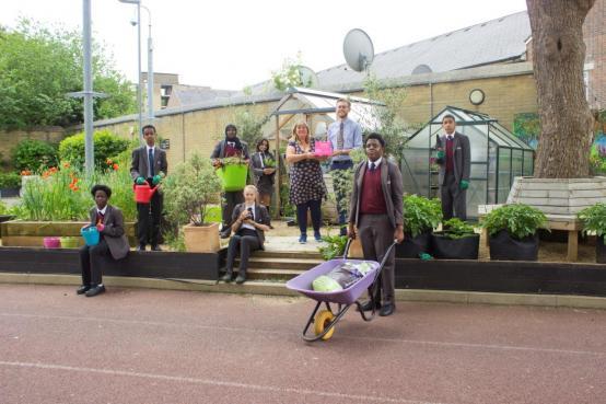 Gardening gong for Shepherds Bush school's climate change work
