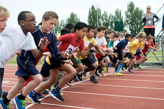 Sign up for free athletic summer camps for children at Linford Christie Stadium