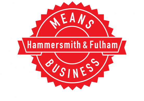 H&F Means Business logo