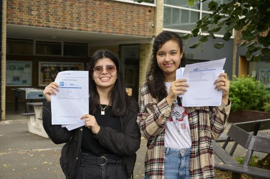 Local students shine on GCSE results day despite exam and Covid disruption