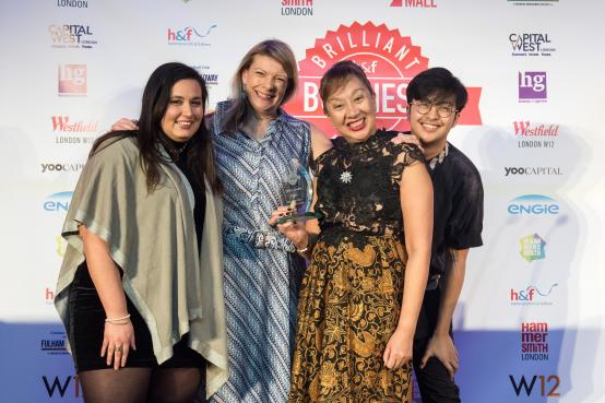 IMMY London pick up their Brilliant Business Award