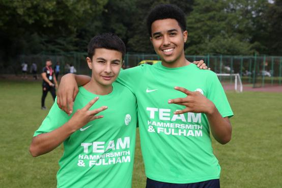 Undefeated H&F boys take football gold at London Youth Games