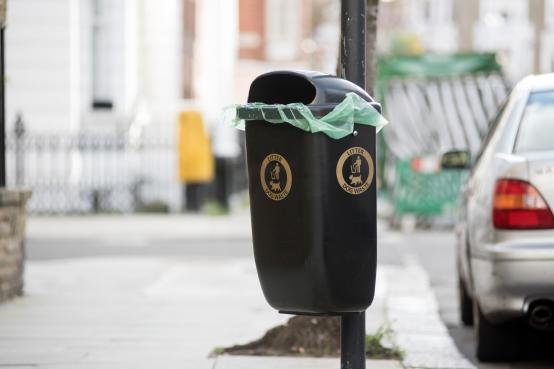New bins help keep streets clean