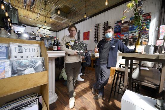 Music and wine lovers open Next Door Records in Shepherds Bush