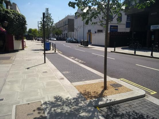 Top tree award for scheme to make Fulham road greener