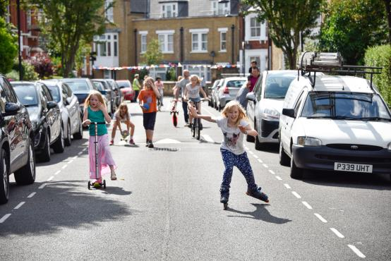 Turn your road into a playground for you and your children