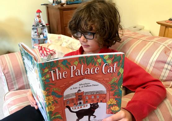 Edmund the Fulham Palace cat catches a new children's book – WIN a free copy!