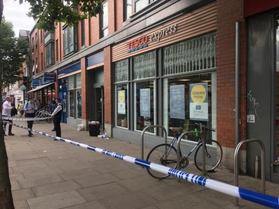 Man arrested and charged over supermarket syringe attack