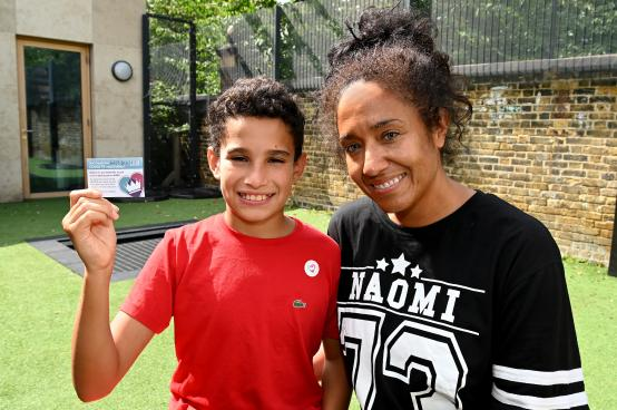 Young people at risk receive their Covid jabs at special event in Fulham