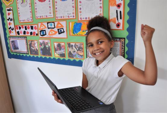 TECH4KIDS: New laptops help Wendell Park pupils beat the digital divide