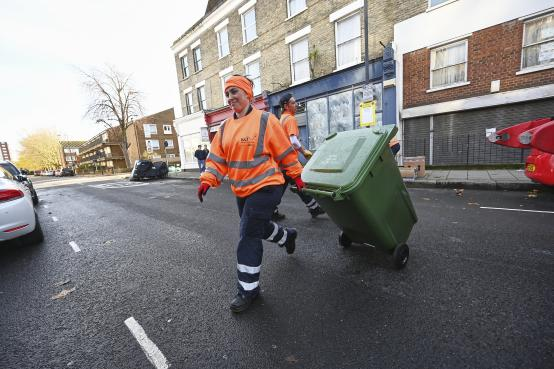 New food waste and wheeled bin service off to a flying start
