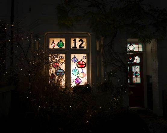 White City and Wormholt windows light up to create advent calendar trail