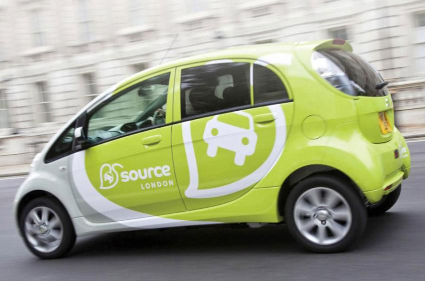 Source London electric car