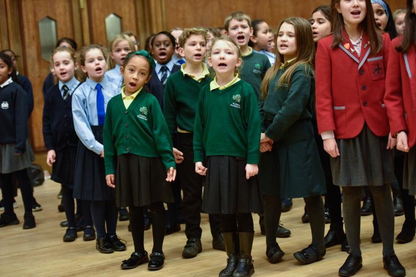 Christmas singing festival