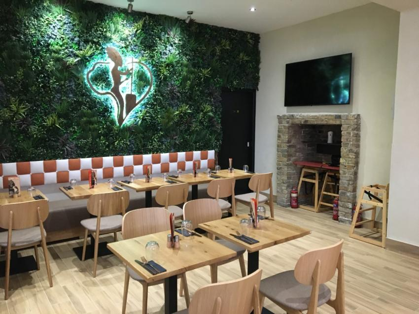 The new African fusion restaurant on North End Road