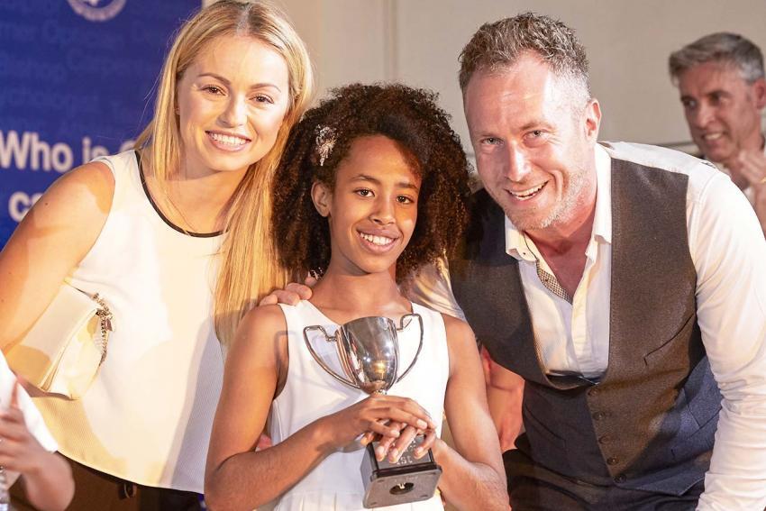 Overall winning pupil Anna Gross