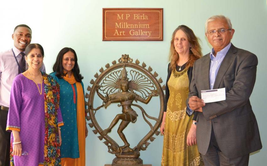 The Bhavan recieves their award