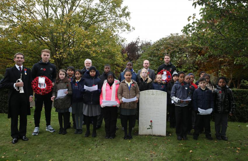 Fulham Remembrance Day