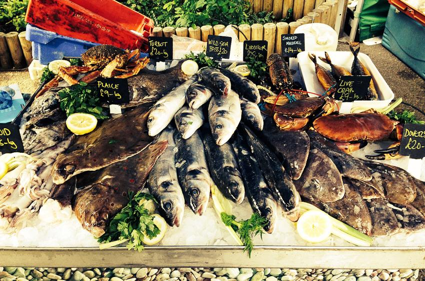 Channel Fish at Brook Green Market and Kitchen