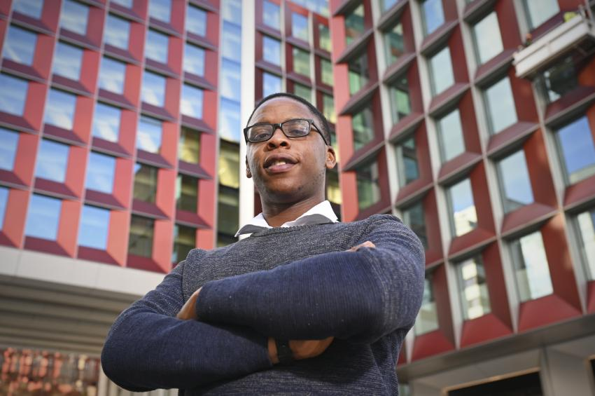 Local apprentice Busayo Epega