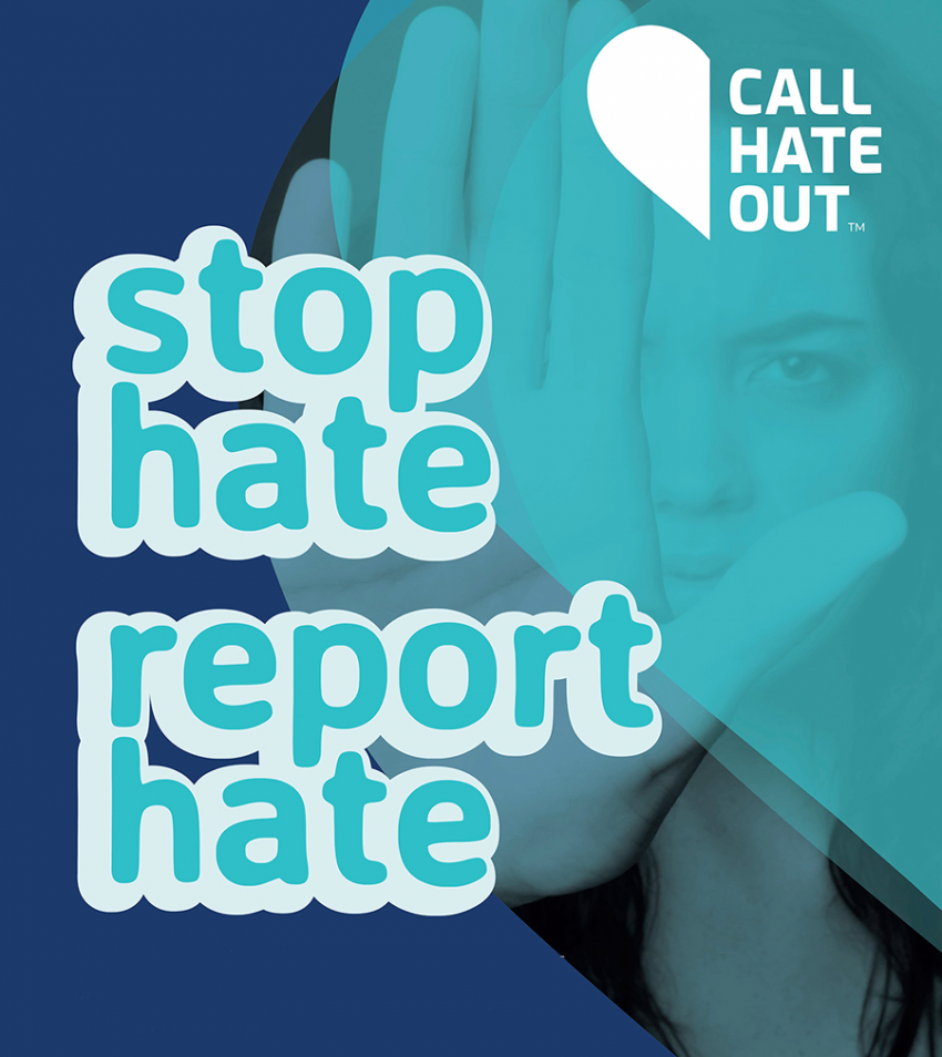 Call Hate Out logo