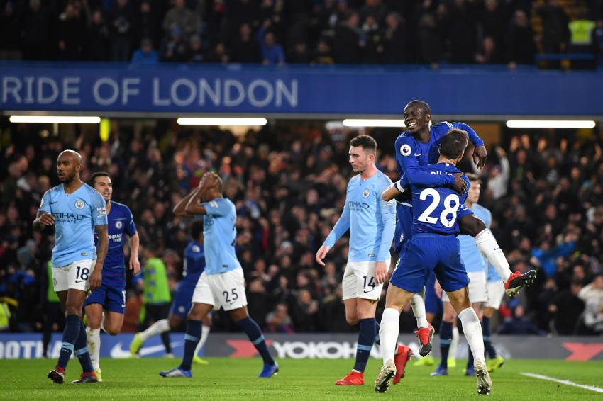 Chelsea give Man City a footballing lesson