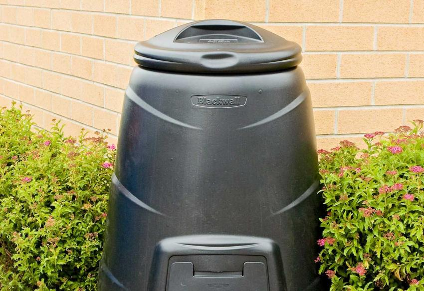 Composters benefit both your garden and the environment