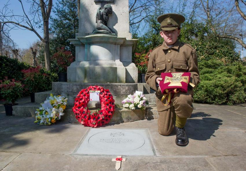 Corporal Edward Dwyer commemorative stone