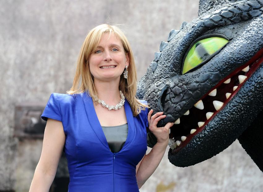 New Children's Laureate Cressida Cowell