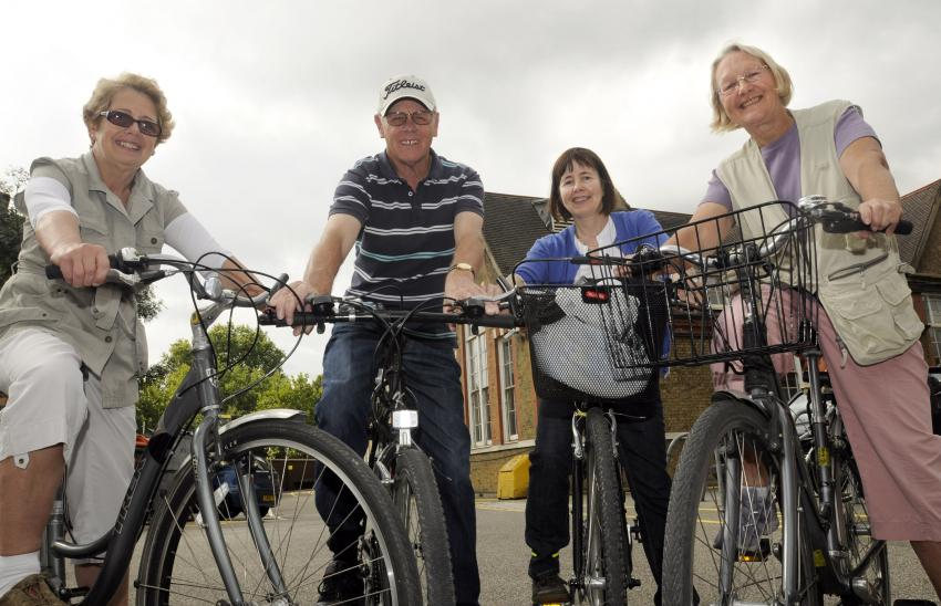  Local organisations are being encouraged to bid for funding for projects to get more people cycling - Banner