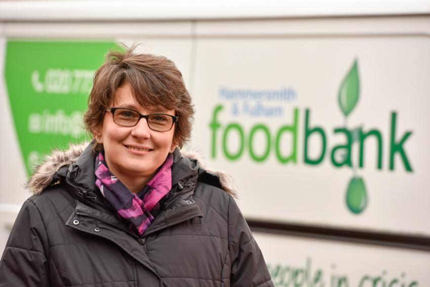 H&F Foodbank Chief Executive Daphine Aikens