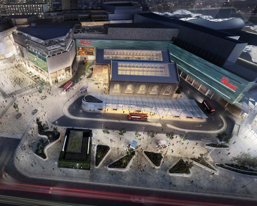 Dimco East building at Westfield London
